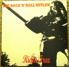 ROCK N ROLL OUTLAW LP 'Ridin Free' LP NEW Hookers zeke nine pound hammer