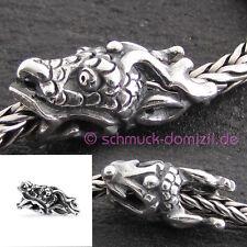NEUHEIT - TROLLBEADS Silberbead Heiliger Drache - TAGBE-30127 Spiritual Dragon