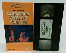 Will Vinton's Claymation Comedy of Horrors VHS 1991 animated Halloween special