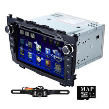 "HIZPO 8"" Car GPS DVD Player BT Radio RDS for Honda CR-V CRV 2008 2009 2010 2011"