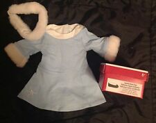 AMERICAN GIRL 8+ SNOWFLAKE DRESS SET & SHOES -STORE EXCLUSIVE- BRAND NEW IN BOX
