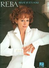 Reba McEntire Songbook sheet music What If It's You / How Was I To Know