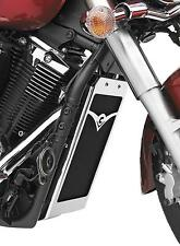 2007-2010 YAMAHA XVS 1300 A MIDNIGHT STAR Chrome Radiator Cover (COBRA 05-9347)