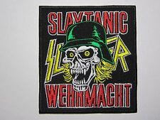 SLAYER Slaytanic Wehrmacht embroidered NEW patch thrash metal