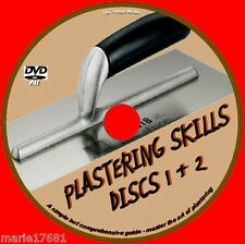 LEARN HOW TO PLASTER TUITION COURSE IDEAL TRAINING FOR DIY & TRADE DVD NEW