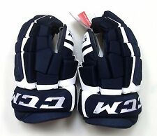 "New CCM Control ice hockey gloves navy white senior 14"" sr size blue"