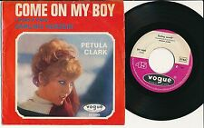 "PETULA CLARK 45 TOURS 7"" GERMANY COME ON MY BOY"
