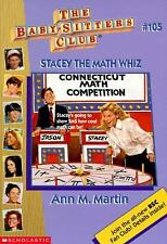 Stacey the Math Whiz (Baby-Sitters Club (Quality))