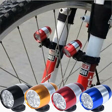 Waterproof Bike Cycling Head Lamp Light Bicycle Flash Safety Tail + Mount 6 LED