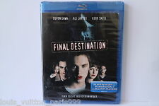 FINAL DESTINATION BLU RAY DISC BNEW SEALED