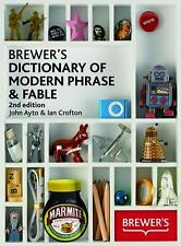 Brewer's Dictionary of Modern Phrase & Fable-ExLibrary