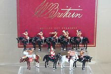 BRITAINS 00073 MOUNTED BAND of the LIFEGUARDS SET 1 TROOPING the COLOUR MIB my