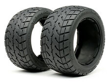 HPI 4840 TARMAC BUSTER TYRE M COMPOUND (170X80MM/x2) [1/5 BAJA TYRES] NEW!