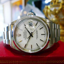 MENS ROLEX OYSTER PERPETUAL DATEJUST REF: 16200 STAINLESS STEEL WATCH c. 2000