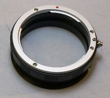 Canon EOS EF Camera Mount to M65 x 1mm Focusing Helicoid Adapter