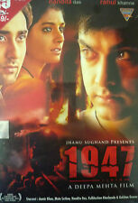 1947 EARTH - NEW ORIGINAL BOLLYWOOD DVD - Aamir Khan, Nandita Das, Rahul Khanna.