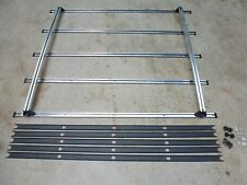Vintage Isuzu Trooper Roof Luggage Rack Chrome Classic Style Surf Ski Wagon SUV