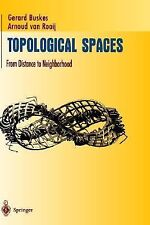 Topological Spaces: From Distance to Neighborhood (Undergraduate Texts in Mathem