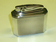 ROWENTA BRIDGE TABLE LIGHTER 925 STERLING SILVER FEUERZEUG - 1954-1964 - GERMANY