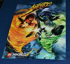 LEGO Ninjago Poster, 16 inches wide by 20 inches long, 2 sided, color, Airjitzu