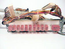 ROCK-OLA 450 JUKEBOX part:  Tested & Working  COMPLETE BUTTON RACK & CABLES