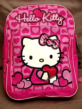 Hello Kitty (Sanrio) Pink Hearts Backpack Super Cute BNWT