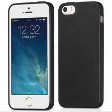 For iPhone 5S SE 5 Ultra Thin Slim Matte Soft Silicone TPU Gel Back Case Cover