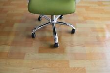"PVC Chair Mat 36"" x 48"" Hard Floor Protection Clear Transparent H35"