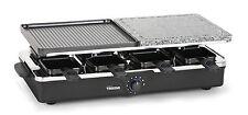 Tristar RA-2992 Raclette-/Steingrill, 8 Personen 1300 Watt Anti-Haftbeschichtung