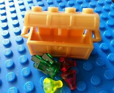 Lego Pearl Gold Treasure Chest Jewel Rock Stones Knight Castle Pirate Bulk NEW