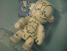 "RARE !! Qee Dunny toy  8"" MCA HK!!  2006 Signed and Doodled Custom"