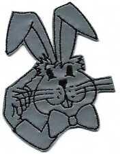 Parche Aplicación Patches Coser en el escudo de armas REFLEXIVO CONEJO 01905