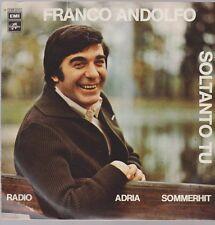 """7"""" Franco Andolfo Soltanto Tu / Troviamoci Domani 70`s EMI Columbia"""