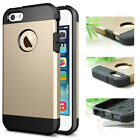 NEW iPhone 5 5S Shockproof Dirt Dust Proof Hard SOFT Cover Case For iPhone 5 5S