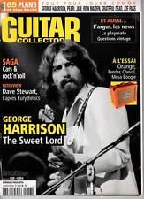 """GUITAR COLLECTOR #56 """"G.Harrison,D.Stewart,Iron Maiden,Pearl Jam,J.Pass""""REVUE+CD"""