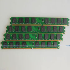 High Density 8GB 4x2GB PC2-6400 DDR2 800 800Mhz 240PIN DIMM Desktop memory RAM