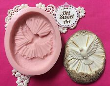 First Communion Dove  Silicone Mold Food Cake Decoration soap  Cupcake (FDA)