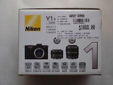 Nikon  1 1 V1 10.1 MP Digital Camera - Black (Kit w/ VR 10-30mm and VR...