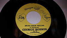 GEORGE ROBSON & THE STONEBURNERS Brush Arbor Meeting PHOENIX AZ Corazon Records