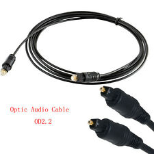 5M/16FT Optical Fiber Optic Toslink Digital Audio Cable SPDIF Cord OD2.2mm TOP