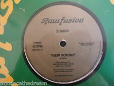 "ZUMEN ~ New Sound / Man Do Para ~ 12"" Single SEALED"