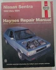 1982-1994 Haynes  Nissan Sentra Repair Manual
