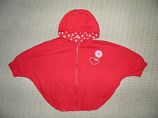 Mini Mode Baby girl lovely red cape jacket  12 - 18 months used worn once