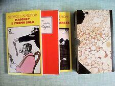 Le ultime inchieste del celebre commissario Maigret INEDITI Simenon Mondadori 77
