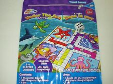 Magnetic Travel Under The Sea Board Game - Pieces Stay Put Play In Car On The Go