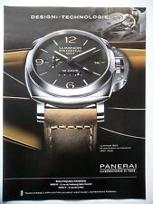 PUBLICITE-ADVERTISING :  PANERAI Luminor 1950 10 Days  2014 Montres