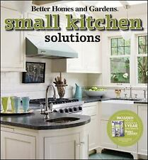 Small Kitchen Solutions (Better Homes & Gardens Decorating)-ExLibrary