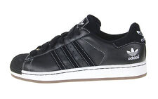 Adidas Superstar II TL Size 8.5 Men's Black/Black Leather Sneakers Shoes 014532
