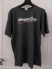 $$$ MIDNIGHT CLUB LA LARGE T-SHIRT GREY $$$ ROCKSTAR GAMES $$$ GTA $$$ SPARCO $