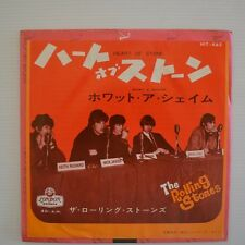 "ROLLING STONES - Heart of stone - 1965 7"" SINGLE JAPON"